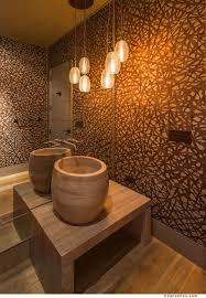 bathroom lighting pendant. romantic modern bathroom lighting with artistic pendant lamp golden shade combined brown e