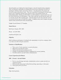 Graduate Student Resume Example New Childcare Resume Template In