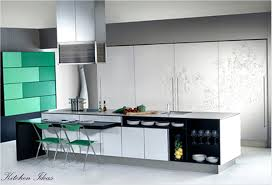 Creative Kitchen Creative Kitchen Design Idea With White Kitchen Cabinet With Storm