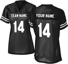 Design Your Own Football Uniform For Fun Custom Replica Practice Womens Football Jersey Womens Cut