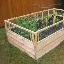 Diy Raised Bed Removable Pest Gate Vegetable Gardener