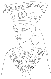 esther coloring page free printable coloring page on esther lesson 7