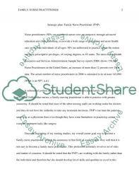 strategic plan family nurse practitioner essay strategic plan family nurse practitioner essay example