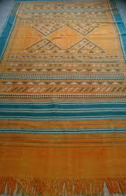 mid century moroccan kilim rug