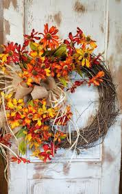 2671 best Front door Wreaths images on Pinterest | Fall
