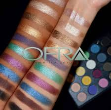ofra eyeshadow palette review swatches s belleblushh