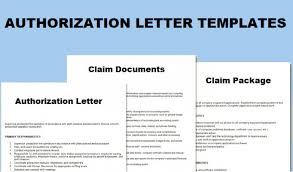 Sample Letter Of Authorization Inspiration Download Our Sample Of Authorization Letter To Claim Document
