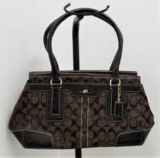 authentic coach signature 11062 shoulder bag