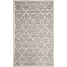 safavieh amherst light grey indoor outdoor rug 5 x 8