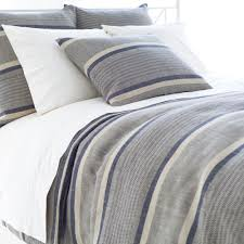 pine cone hill morocco linen indigo duvet cover in queen
