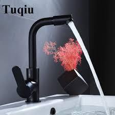 senarai harga basin faucet gold rose gold chrome black brass bathroom faucet sink tap swivel spout vanity sink faucet mixer terbaru di malaysia