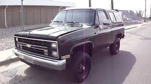1988 Chevrolet K5 Blazer 4x4 in Tuxedo Black Restored and for sale ...