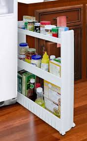Amazon.com - SLIM SLIDE-OUT STORAGE TOWER - IDEAL IN YOUR KITCHEN ...