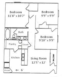 3 Bedroom Floor Plans Simple Decoration