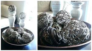 Decorative Bowls With Balls
