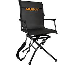 muddy outdoors swivel ease ground seat