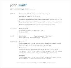 Free Resume Templates To Download And Print. Media Resume Template ...