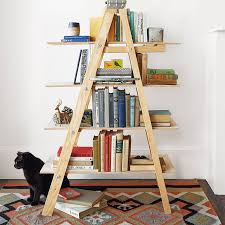 ladder shelving freestanding and easy to assemble wooden ladders make a great portable library