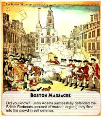 boston massacre for kids acirc  boston massacre woodcut by paul revere