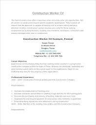 Example Of General Resume Emelcotest Com