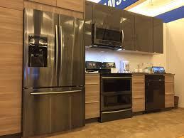 samsung black stainless steel. Furniture:Black Stainless Steel Appliances Set Samsung Lowes In Kitchen Kitchenaid Refrigerator Home Depot Groovy Black E