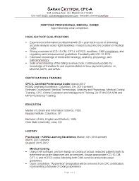 Resume-for-medical-coder