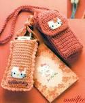 Вязание крючком схемы чехлов для телефонов