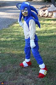 sonic the hedgehog costume for boys