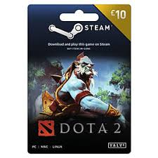 buy dota 2 10 wallet top up steam free uk delivery game