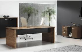 white wood office desk. Simple Brown Wooden Office Desk Inspire Using White LCd Plus Louge Chair And Black Wood R
