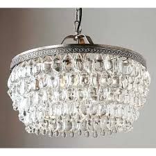 pottery barn crystal drop round chandelier a liked ideas of lighting clarissa knock off ro