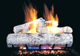 prodigious wg peterson real fyre inch birch gas logs guaranteed realistic gas fireplace logs in gas