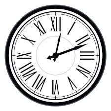 retro clock vintage dial clock with roman numerals vector old clock retro clock antique ilration of retro clock