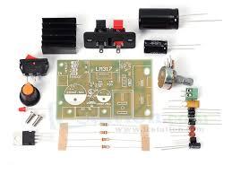 LM317 <b>DC 5V</b>-<b>35V</b> to 1.25V-30V Step Down DIY Kit AC/DC Power ...