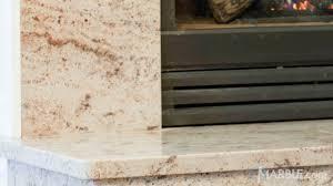 Ivory Brown Granite brown granite fireplace surround 1122 by uwakikaiketsu.us