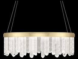 fine art lamps lior gold leaf with rock