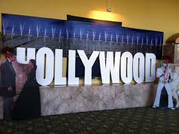 Hollywood Theme Decorations Hollywood Theme Party Decor Rental 480 497 3229themers 480 497