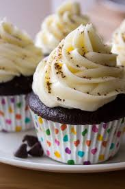 chocolate cupcake with cream cheese frosting. Chocolate Cupcakes With Cream Cheese Frosting The Perfect Are Made Even Better By On Cupcake Just So Tasty
