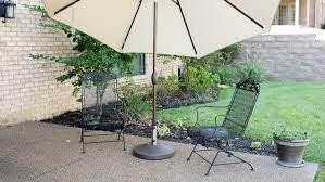 us weight bronze patio umbrella base in