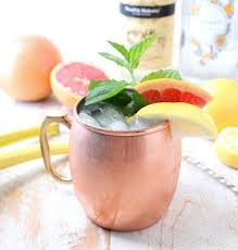 sparkling gfruit gin mule recipe