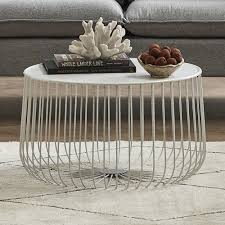 temple webster trevi wire coffee table