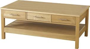 the coffee table boasts 3 spacious drawers which are perfect for storing s books and