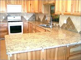 cover laminate countertops with tile wood trim