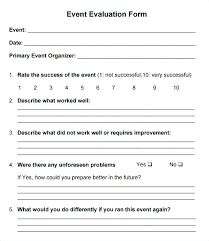 Free Feedback Form Unique Sample Training Evaluation Forms Templates Course Form Template Free