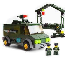 Đồ chơi lego lắp ráp Xe cứu thương quân đội Kazi 6032