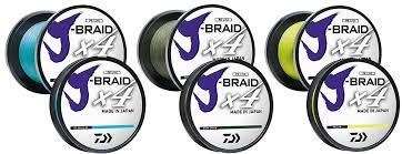Daiwa J Braid Braided Line X4