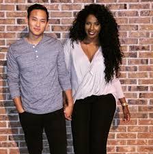 Asian guys and black girls