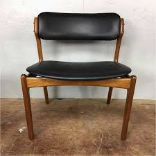saddle leather chair fresh erik buck set four dining chairs for ideas of leather and wood