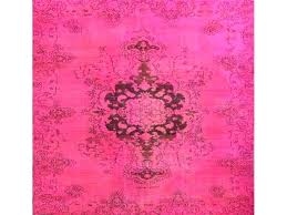 pink vintage rug over dyed vintage rug do you need a way to improve the look from