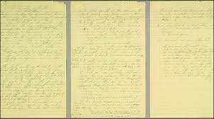bbc news entertainment arts culture king papers pulled three page handwritten outline for martin luther king jr s first speech condemning the vietnam war